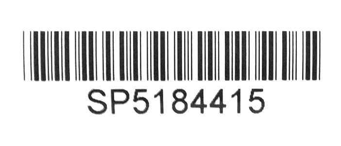Przykładowy numer ramy roweru Sparta