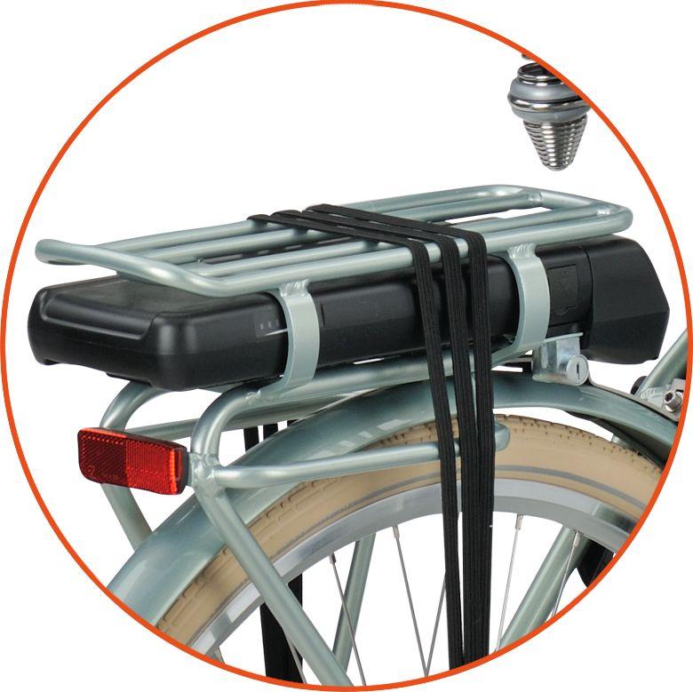 bateria na bagazniku rower elektryczny batavus