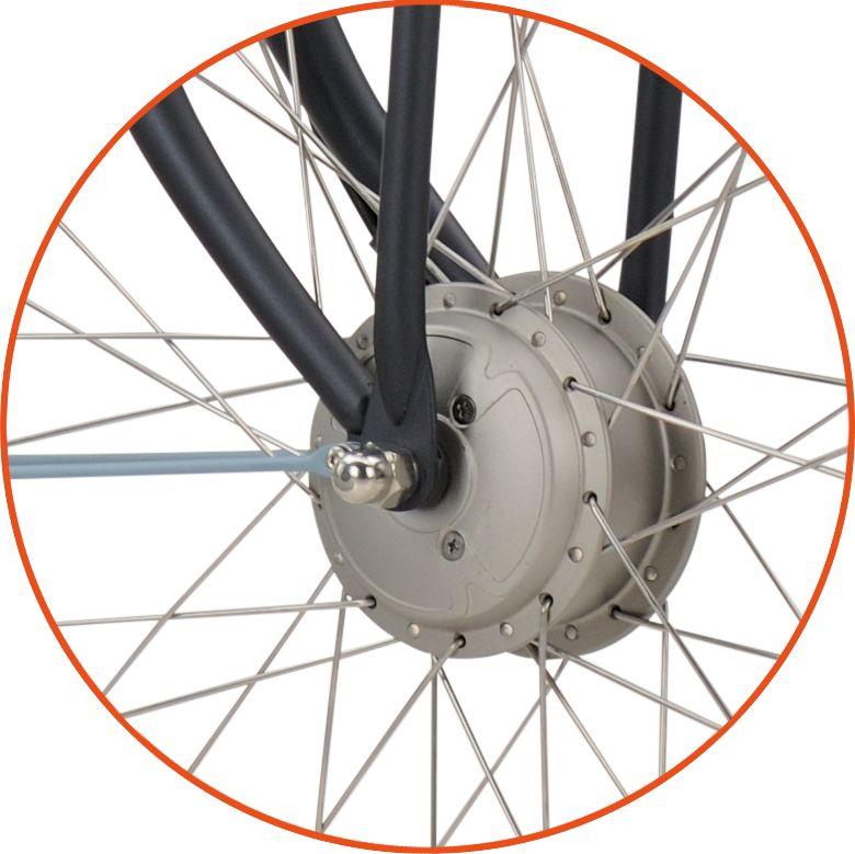 silnik roweru elektrycznego batavus sanyo