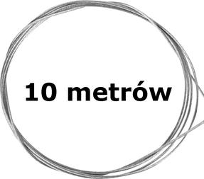 10 metrów linki rowerowej Ø 1-2,5 mm