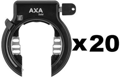 20 x Blokada AXA Solid - jeden wzór klucza