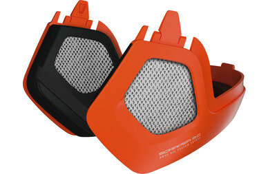 Akcesoria do kasku Abus Scraper 3.0 Winter Kit Signal Orange