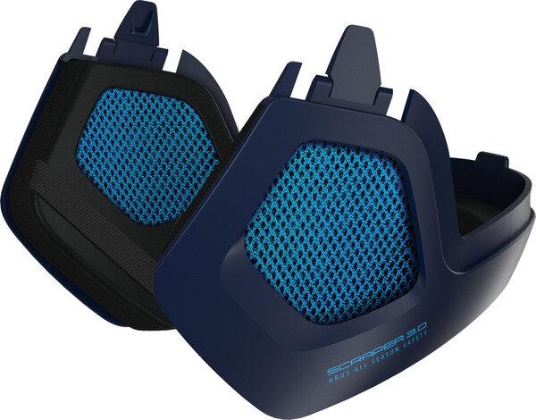 Akcesoria do kasku Abus Scraper 3.0 Winter Kit Ultra Blue