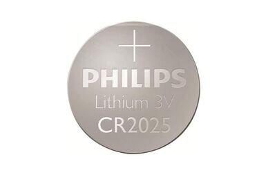 Bateria Philips CR2025 do licznika rowerowego
