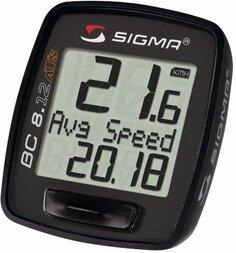 Bezprzewodowy licznik rowerowy SIGMA BC 8.12 ATS czarny