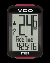 Bezprzewodowy licznik rowerowy VDO M3.1 WL