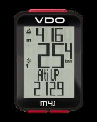 Bezprzewodowy licznik rowerowy VDO M4.1 WL
