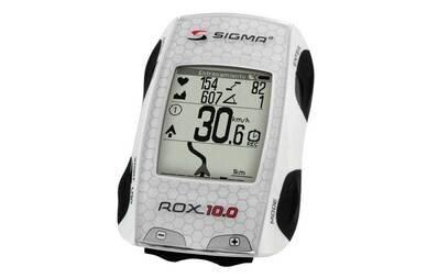 Bezprzewodowy licznik rowerowy z pulsometrem i GPS Sigma ROX 10.0 Basic Biały / Bez nadajników