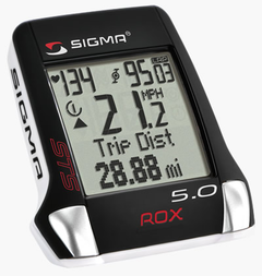 Bezprzewodowy licznik rowerowy z pulsometrem Sigma ROX 5.0