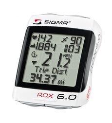 Bezprzewodowy licznik rowerowy z pulsometrem Sigma ROX 6.0 CAD
