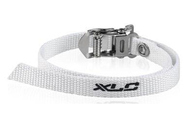 Białe paski do nosków na pedały XLC