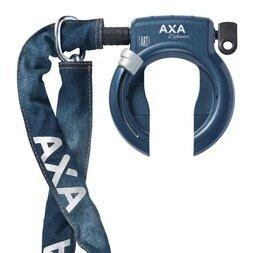 Blokada koła AXA Defender Jeans + łańcuch AXA RLC Jeans