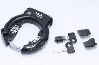 Blokada koła AXA Defender + zamek do baterii YAMAHA