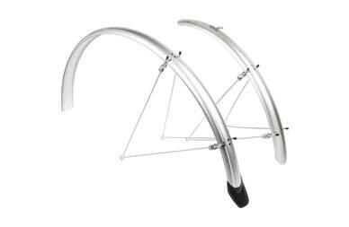 Błotniki rowerowe EuroFender Elegance 28 srebrne