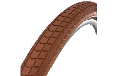 Brązowa opona rowerowa Schwalbe Little Big Ben 28x1.50 (40-622)