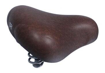 Brązowe siodełko Batavus Selle Royal Brown