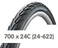 Opony rowerowe 700 x 24C (24-622)