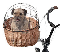 Koszyki rowerowe dla zwierząt