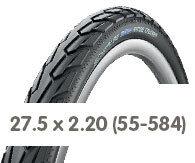 Opony rowerowe 27.5 x 2.20 (55-584)