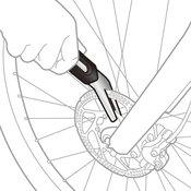 Serwis hamulców rowerowych
