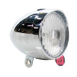 Chromowana lampka na baterie Move Retro