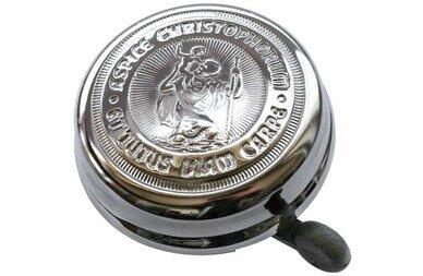 Chromowany dzwonek Św Krzysztof CHRISTOPHERUS