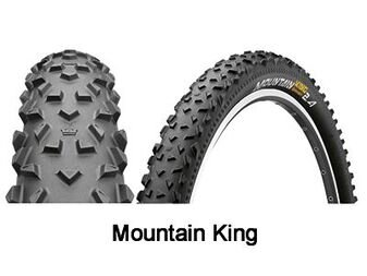 Continental Mountain King 3/180tpi Supersponic zwijane 26 x 2,2