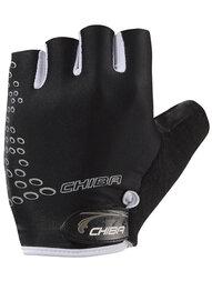 Damskie rękawiczki rowerowe Chiba Lady O2 Black