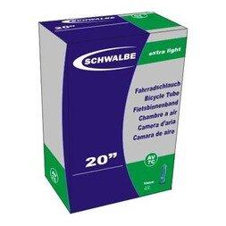 Dętka Schwalbe 20 x 1 1/8-1 3/8 28/37-438/451 / DV 32 mm.