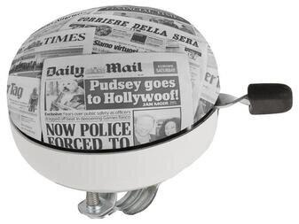 Duży dzwonek Ding-Dong Newspaper