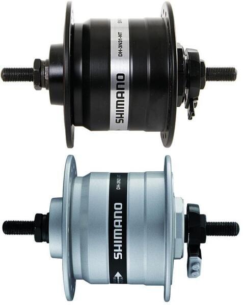 Dynamo w piaście Shimano DH-C3000