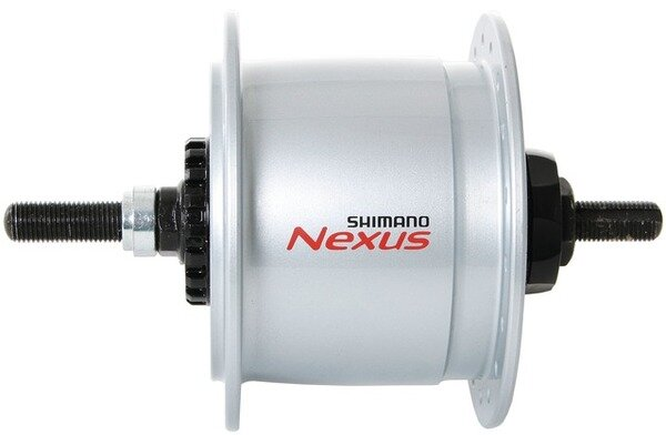 Dynamo w piaście Shimano DH-C6000-2R Nexus pod hamulec rolkowy