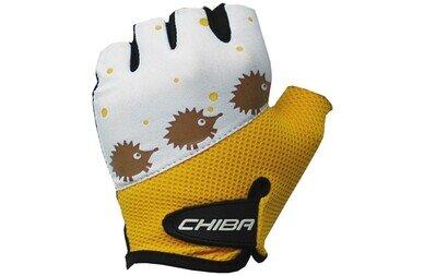Dziecięce rękawiczki rowerowe Chiba Kid Girls Igel (jeż)