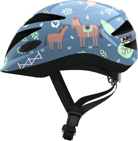 Dziecięcy kask rowerowy Abus Hubble 1.1, Blue Horse