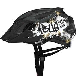 Dziecięcy kask rowerowy Abus MountX, czarny