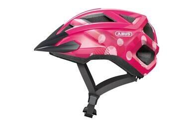 Dziecięcy kask rowerowy Abus MountZ Fuchsia Pink
