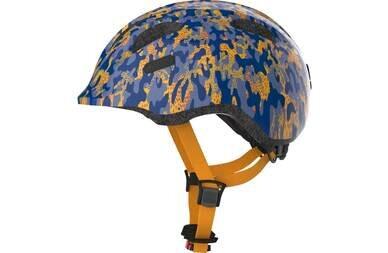 Dziecięcy kask rowerowy Abus Smiley 2.0 Camou Blue