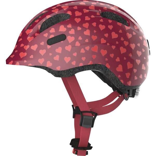 Dziecięcy kask rowerowy Abus Smiley 2.0 Cherry Heart