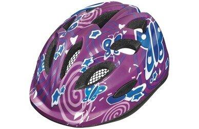 Dziecięcy kask rowerowy Abus Smiley 2.0, Pink Butterfly
