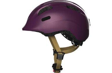 Dziecięcy kask rowerowy Abus Smiley 2.0 Royal, fioletowy