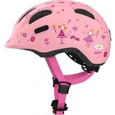 Dziecięcy kask rowerowy Abus Smiley 2.0, różowy
