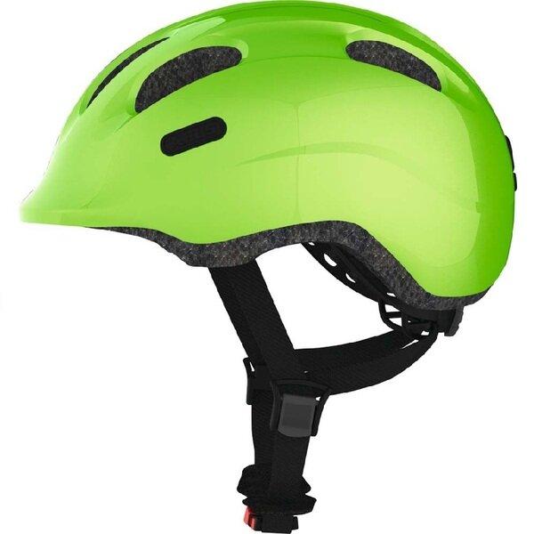 Dziecięcy kask rowerowy Abus Smiley 2.0, zielony