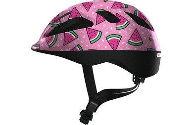 Dziecięcy kask rowerowy Abus Smooty 2.0 Pink Watermelon