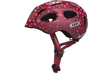 Dziecięcy kask rowerowy Abus Youn-I Ace, Cherry Heart