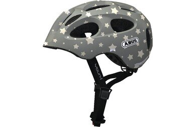 Dziecięcy kask rowerowy Abus Youn-I Ace, Grey Star
