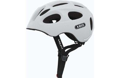 Dziecięcy kask rowerowy Abus Youn-I, biały