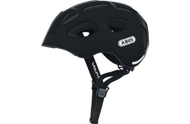 Dziecięcy kask rowerowy Abus Youn-I, czarny