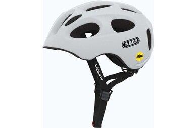 Dziecięcy kask rowerowy Abus Youn-I MIPS, biały