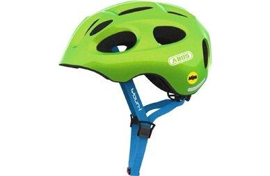 Dziecięcy kask rowerowy Abus Youn-I MIPS, zielony