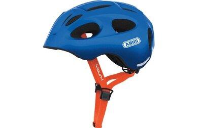 Dziecięcy kask rowerowy Abus Youn-I, niebieski